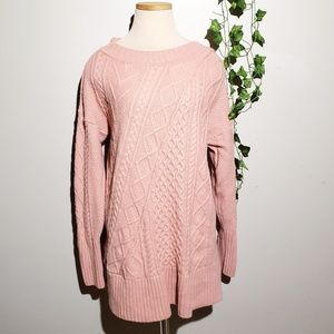 J. Crew Oversizzed Knit Wool Tunic Sweater